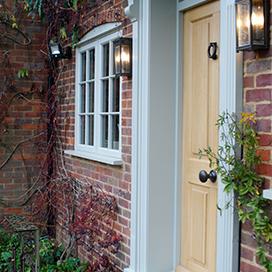 Belgravia timber entrance door